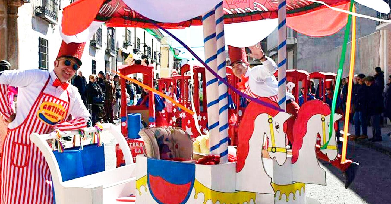 Los divertidos Carnavales de Calzada de Cva. comienzan este próximo Jueves Lardero con el tradicional manteo de peleles