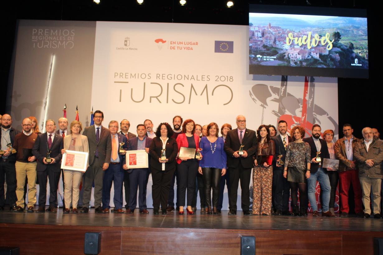Los tres años seguidos de record en viajeros y pernoctaciones en la región, demuestran la apuesta Gobierno de Castilla-La Mancha por el turismo