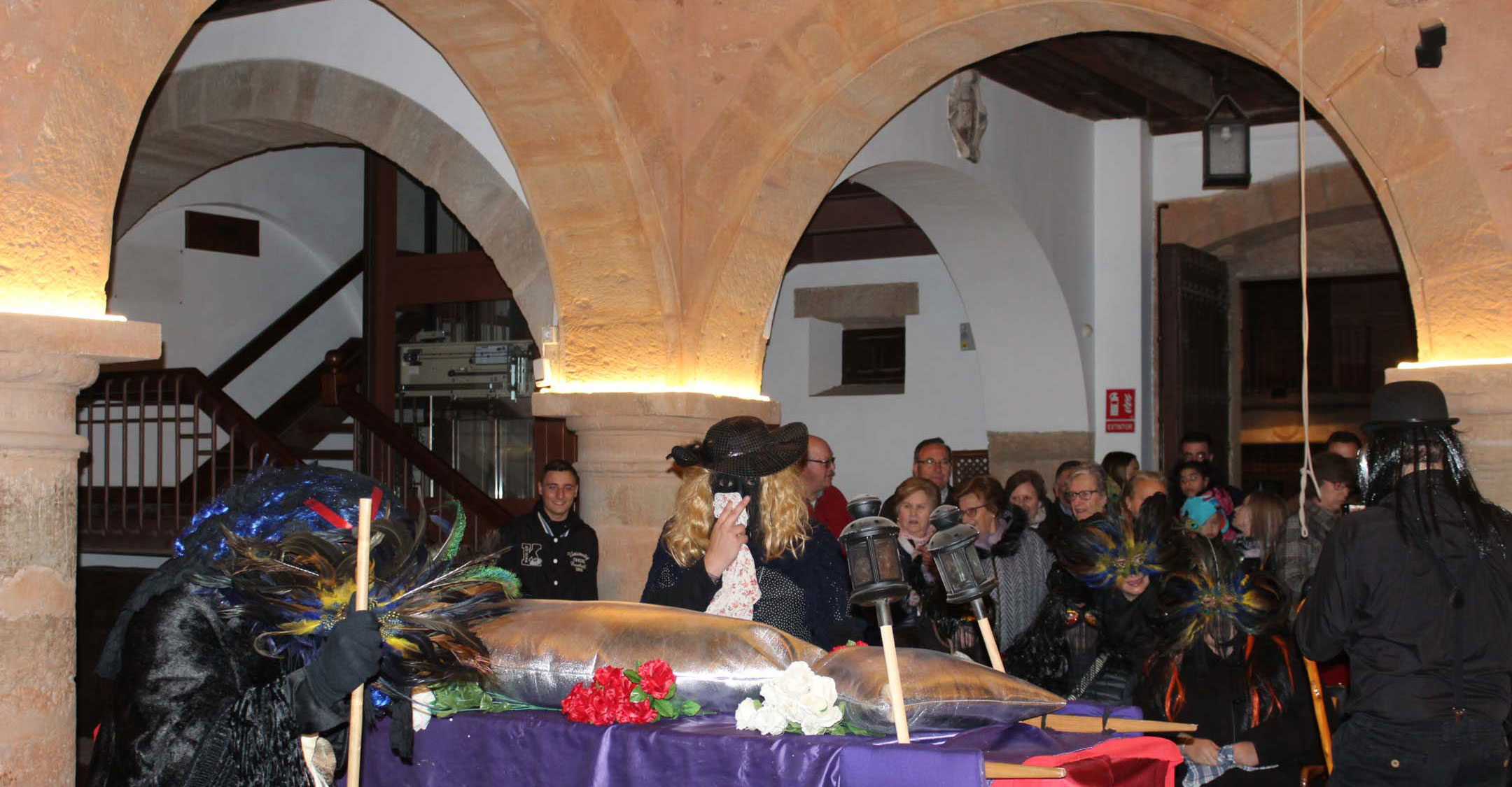 El Entierro de la Sardina clausura el Carnaval de Villanueva de los Infantes