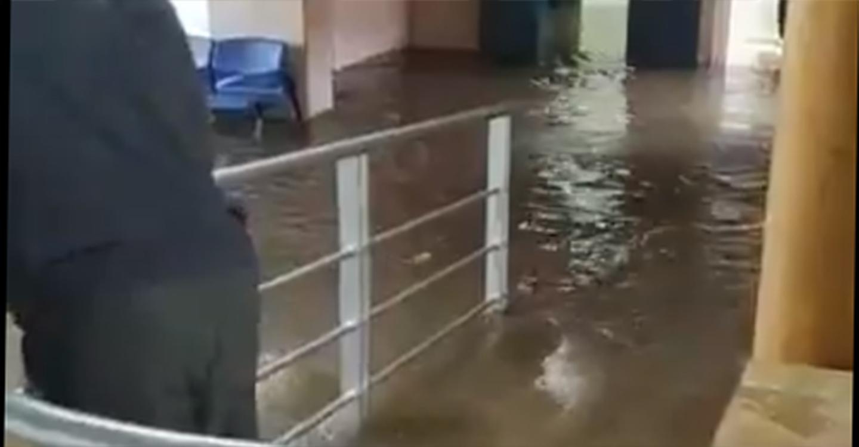 Una monumental tromba de agua ha provocado inundaciones en Valdepeñas
