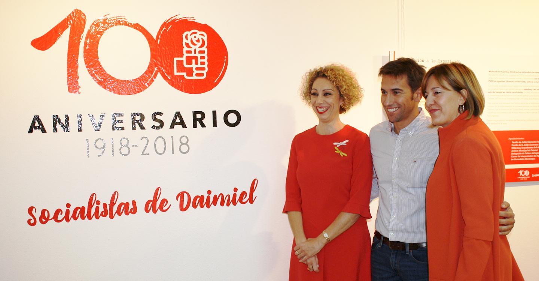 """El PSOE felicita a la agrupación socialista de Daimiel en su cien cumpleaños y le traslada la confianza de que """"una mejor política local es posible"""""""