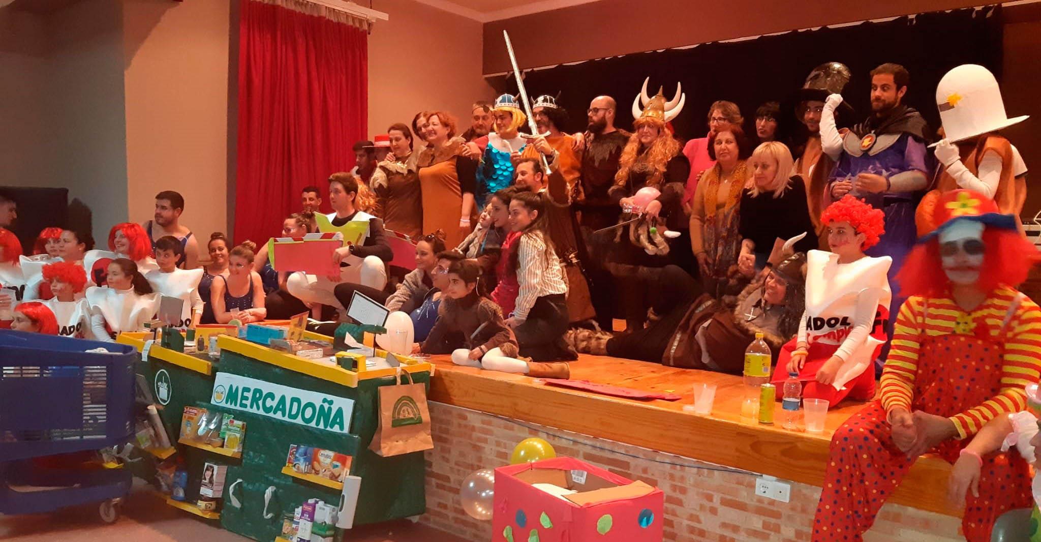 Alta participación y mucha diversión en el Carnaval de El Torno