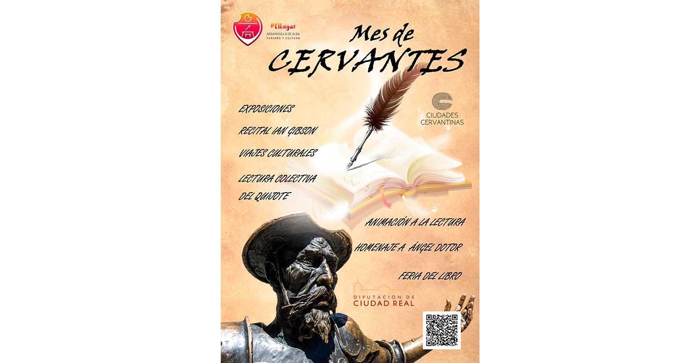 """El Área de Cultura presenta el """"Mes de Cervantes"""""""