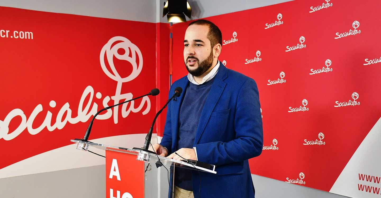 """Miguel González: """"Más de 15.000 autónomos de la provincia  de Ciudad Real cobran la prestación por cese de actividad del Gobierno de Pedro Sánchez"""""""