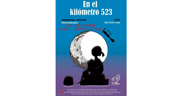 La representación infantil 'En el kilómetro 523' hace escala este viernes en el Centro Cultural