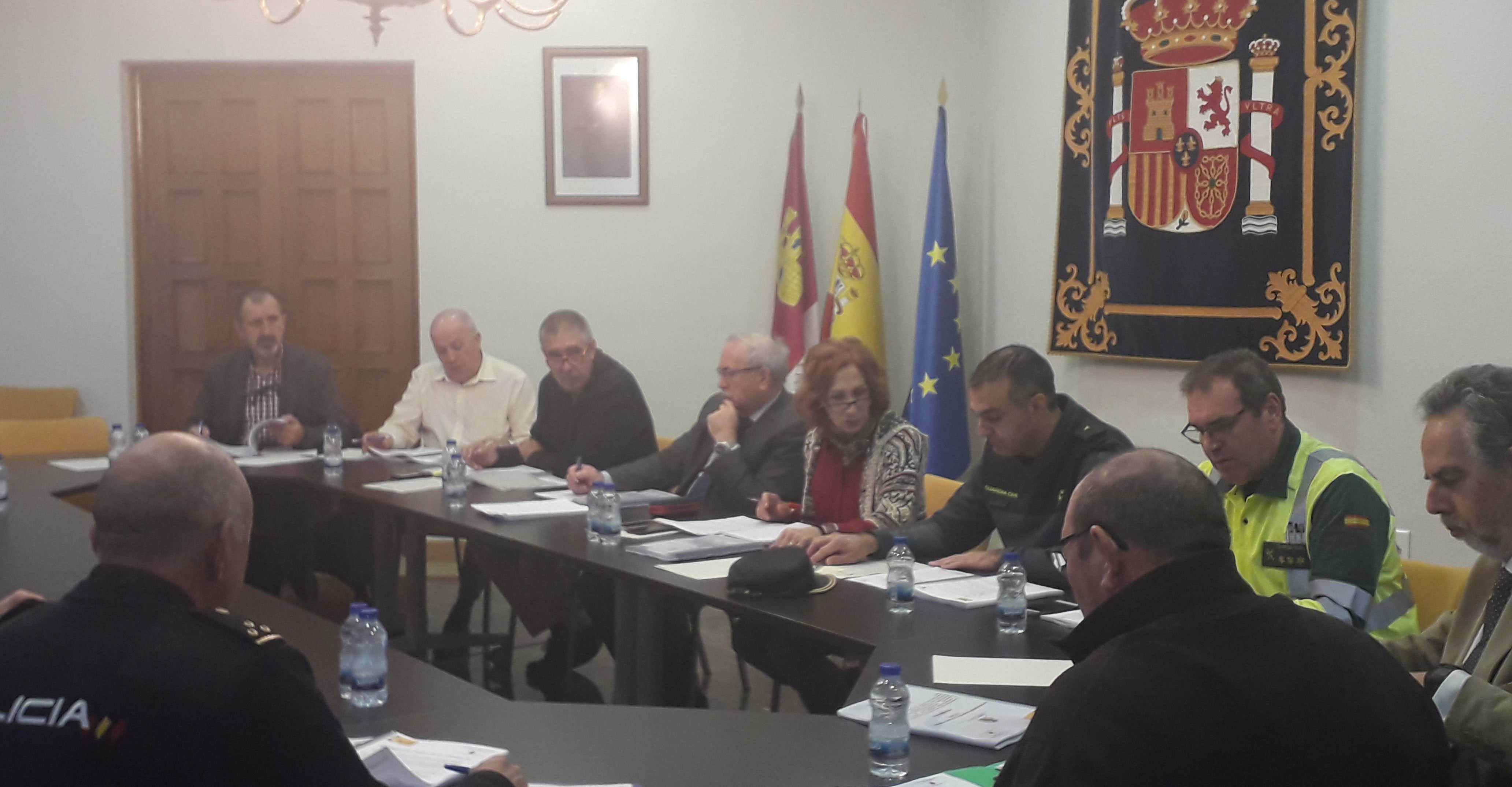 La subdelegada del Gobierno en Ciudad Real presenta el Plan de Vialidad invernal 2019/2020 para la provincia