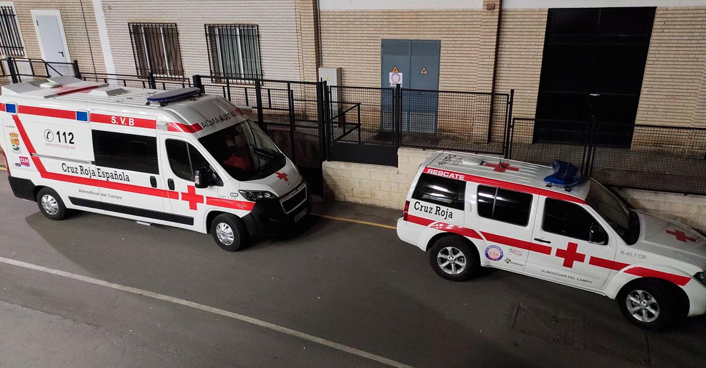 Cruz Roja movilizó a 25 miembros de su voluntariado en las celebraciones de Almodóvar del Campo