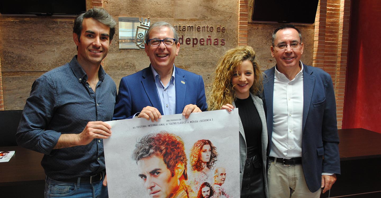 La espectacular 'Nerón' llega de estreno este viernes al Teatro Auditorio de Valdepeñas
