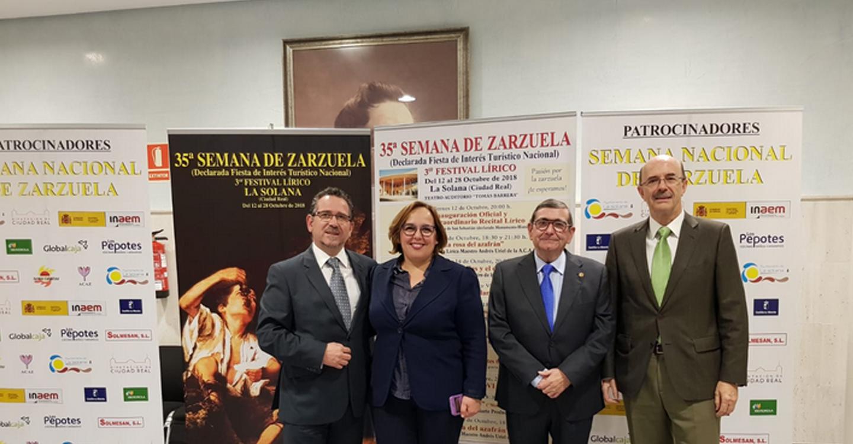El Gobierno de Castilla-La Mancha felicita a La Solana por el éxito cosechado en la 35 edición de la Semana de la Zarzuela