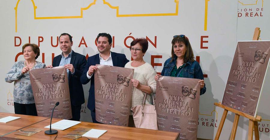 Seleccionadas las compañías que participan en la 29 Muestra Provincial de Teatro de la Diputación