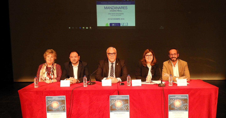 Julián Nieva defiende la sanidad pública y el hospital de Manzanares como algo