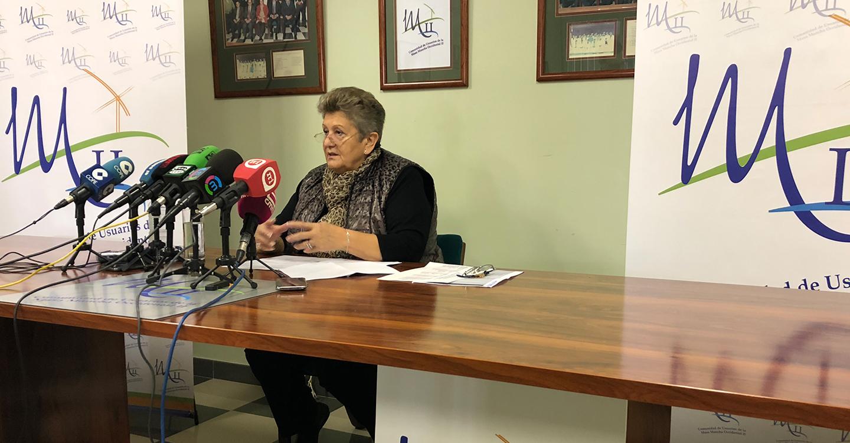 Araceli Olmedo anuncia que deja la presidencia de la Comunidad de Usuarios de Aguas Subterráneas de la Masa Mancha Occidental II