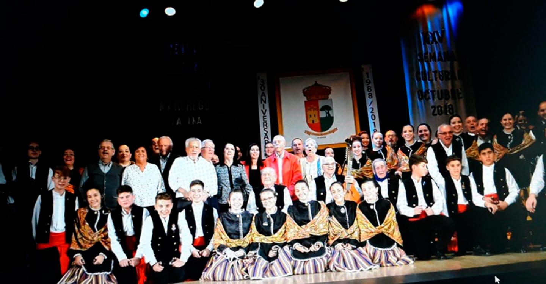 Beatriz Fernández agradeció al Centro Cultural Castellano-Manchego de La Latina su labor en pro de las tradiciones manchegas