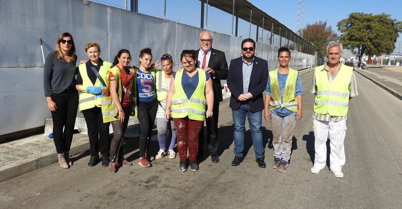 400.000 Euros de inversión en empleo, acerados, aparcamientos y pintura