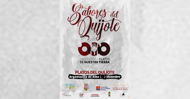 Sabores del Quijote llega a Argamasilla de Alba para promocionar los 'platos del Quijote'