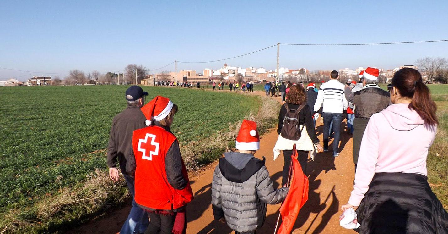 La 'San Silvestre Rabanera' alcanza sus mejores expectativas a beneficio de la delegación local de Cruz Roja Española