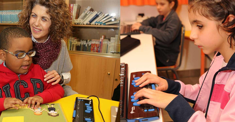 Los 317 estudiantes ciegos de Castilla-La Mancha preparan su #VueltaAlCole en las mismas condiciones que el resto de compañeros