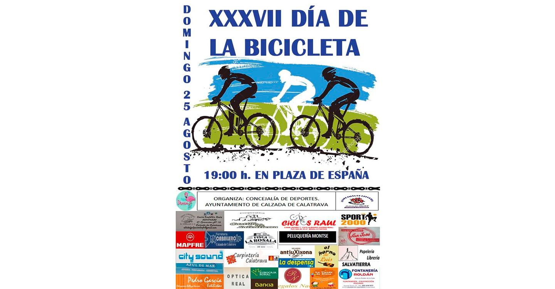 37 años llenando las calles de Calzada de Calatrava de bicicletas