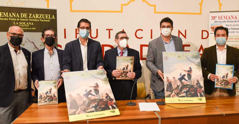 Presentada en la Diputación la 38 Semana de la Zarzuela, que será pregonada por el Premio Nacional de Historia Fernando del Rey