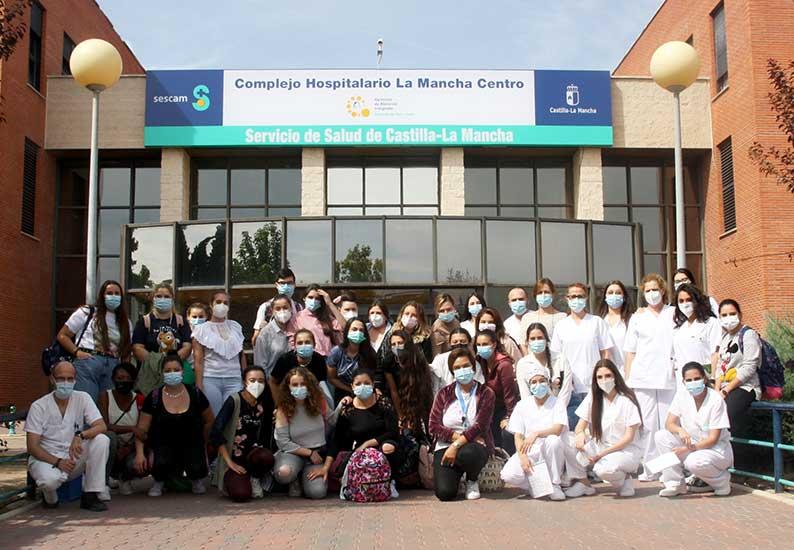 71 alumnos pregrado de diferentes especialidades sanitarias comienzan sus prácticas en la Gerencia de Alcázar de San Juan