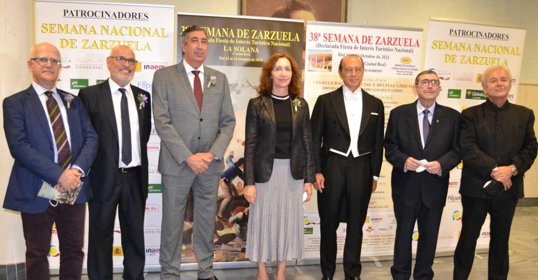 Fernando del Rey pregona la 38ª Semana de la Zarzuela de La Solana, dedicada a todos los que nos han dejado