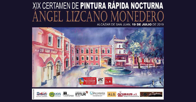 """XIX Certamen de Pintura Rápida Nocturna """"Ángel Lizcano Monedero"""""""
