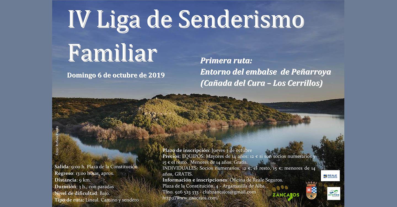 Abierto el plazo de inscripción de equipos en la IV Liga de Senderismo Familiar de Argamasilla de Alba