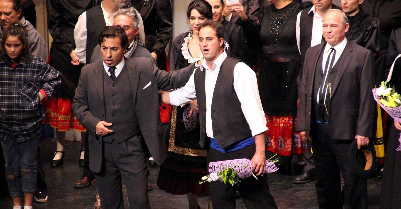 La Asociación Cultural Amigos de la Zarzuela (ACAZ) de La Solana celebra el próximo sábado en el Teatro Calderón de Madrid el 90 Aniversario del estreno de 'La Rosa del Azafrán'