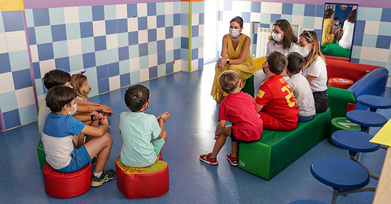 Las actividades lúdicas en la Escuela de Verano de almodóvar del Campo hacen disfrutar a sus participantes