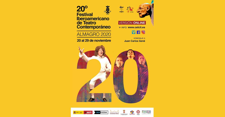 La AD Campo de Calatrava colabora de nuevo con el 20º Festival Iberoamericano de Teatro Contemporáneo de Almagro, que será on line