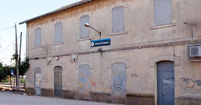 Adif realiza actuaciones de mejora de la infraestructura en la estación de Campo de Criptana (Ciudad Real)