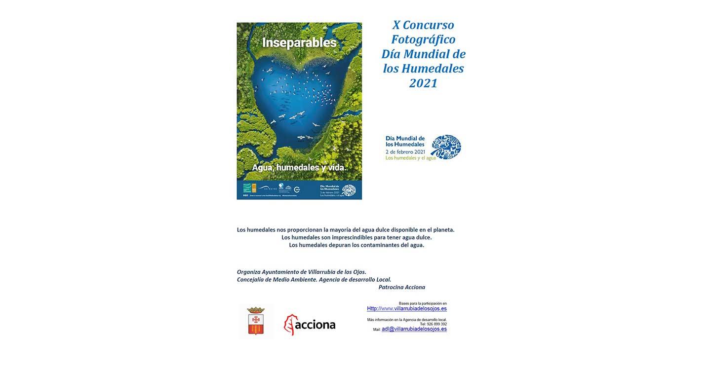 """""""Agua, humedales y vida"""", lema del 10º Concurso Nacional de Fotografía del Ayuntamiento de Villarrubia de los Ojos"""