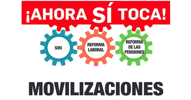 Izquierda Unida de Ciudad Real respalda las movilizaciones de los sindicatos reivindicando la subida del Salario Mínimo Interprofesional y la derogación de la actual Reforma Laboral.