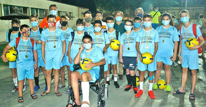 Aldea del Rey clausura su III Campus de Fútbol 7 marcado este año por rigurosas medidas de prevención sanitarias