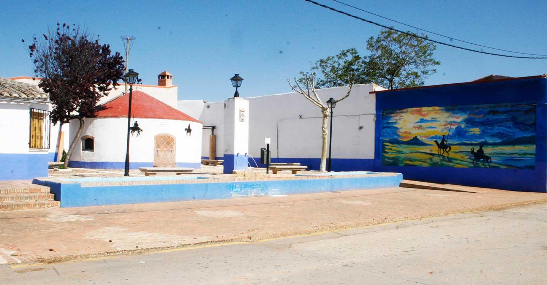 La concejalía de Cultura de Aldea del Rey, conmemora el Día del Libro, con la inauguración de un mural quijotesco en El Pilar y lectura del Quijote en el Palacio de Clavería