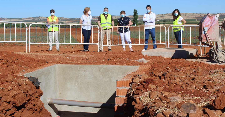 El Gobierno de Castilla-La Mancha acomete obras de emergencia para garantizar el abastecimiento de agua a la localidad de Almagro