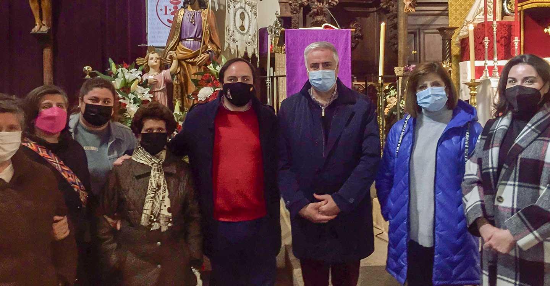 Almodóvar del Campo cierra ciclo de fiestas de barrio con la celebración ayer del día de san José
