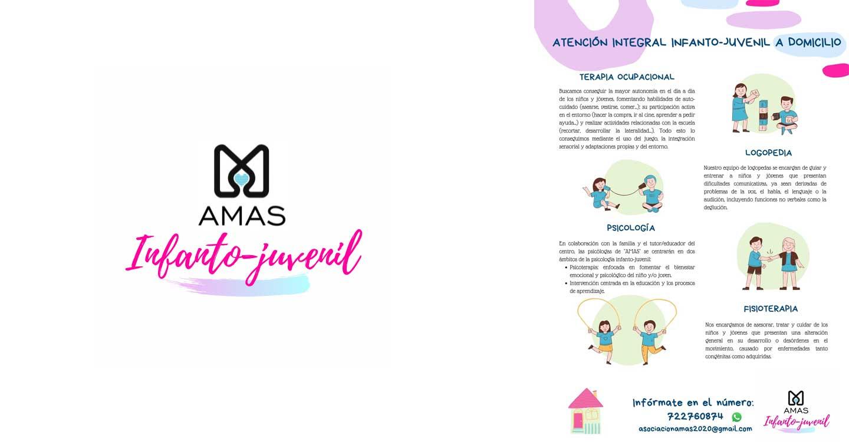 """Asociación """"AMAS"""" comienza una nueva línea de actuación, la intervención en Atención Temprana e Infanto-Juvenil, destinada a niños y jóvenes con necesidades educativas especiales y sus familias."""