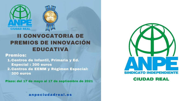 """ANPE Ciudad Real convoca la II Edición del Premio de Innovación Educativa """"Paco Diestro"""""""
