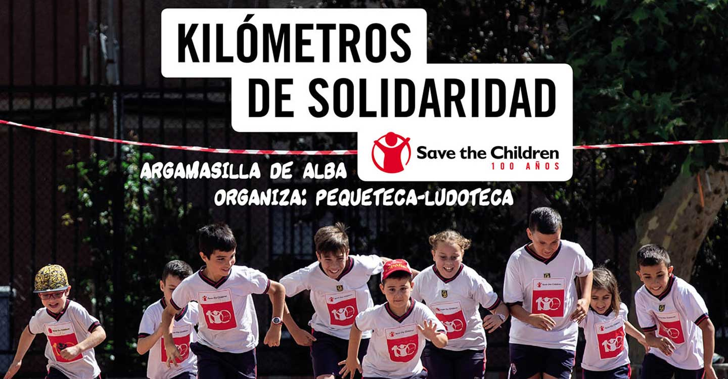 Apúntate a la XVI Carrera Kilómetros de Solidaridad de Save the Children