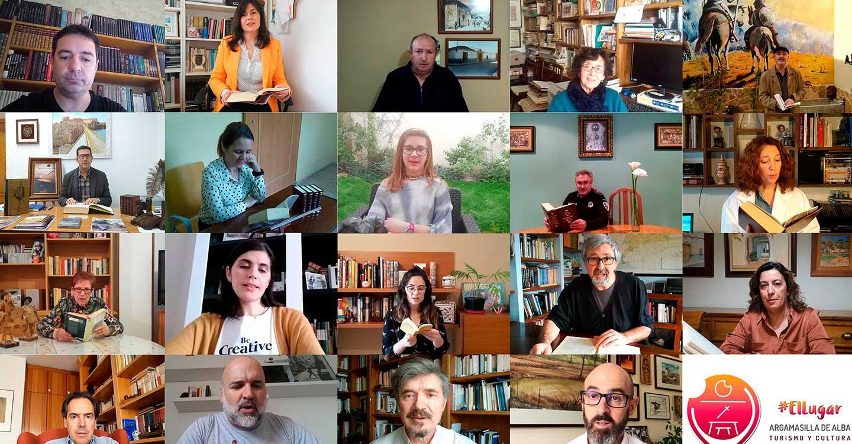 Argamasilla de Alba conmemora el Día del Libro editando un vídeo con la lectura de las primeras páginas de El Quijote