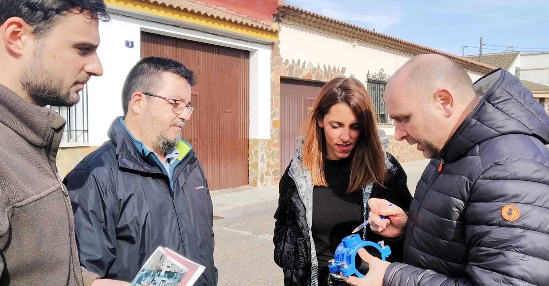 Arrancan las obras para renovar la red de abastecimiento de agua en las calles Coca, Fabiola y Almácera de Villarta de San Juan