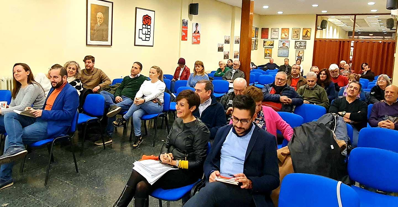 La Asamblea del PSOE  apoya al Gobierno de Pedro Sánchez como clave para Puertollano