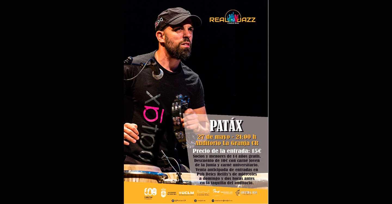 El jazz vuelve al Auditorio de la Granja de Ciudad Real, de la mano del grupo Patáx