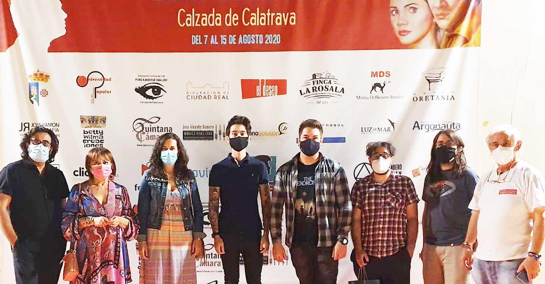 La versión remasterizada de 'Átame' fue anoche la excepcional madrina de los once cortos de Castilla-La Mancha con que concluyeron las proyecciones del VII Festival Internacional de Cine de Calzada de Cva.