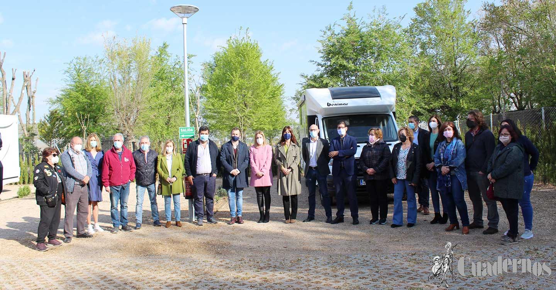 El Área de descanso de autocaravanas en Argamasilla de Alba es ya una realidad y ya forma parte de la primera red de áreas de servicio de autocaravanas a nivel provincial