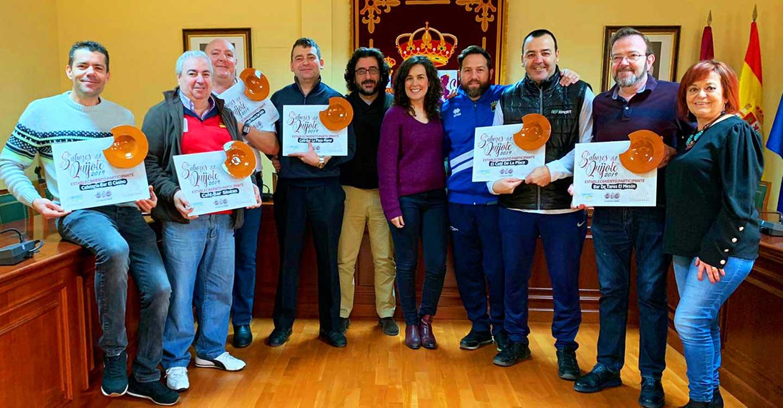 El ayuntamiento de Calzada de Calatrava realiza un reconocimiento a los establecimientos participantes en la feria de los Sabores del Quijote