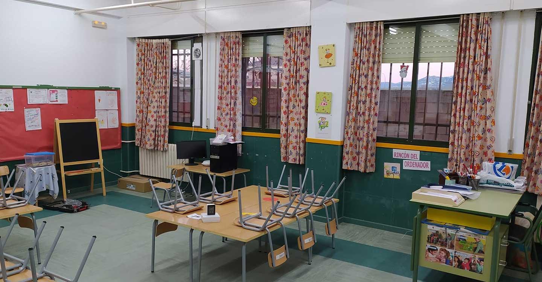 El Ayuntamiento de Porzuna instala extractores de aire en el Colegio y en la Escuela Infantil