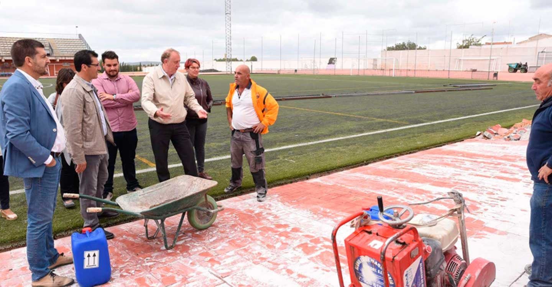 Los ayuntamientos empiezan a activar sus economías locales con el Plan de Obras de la Diputación de Ciudad Real, que supone una inversión de 8,8 millones