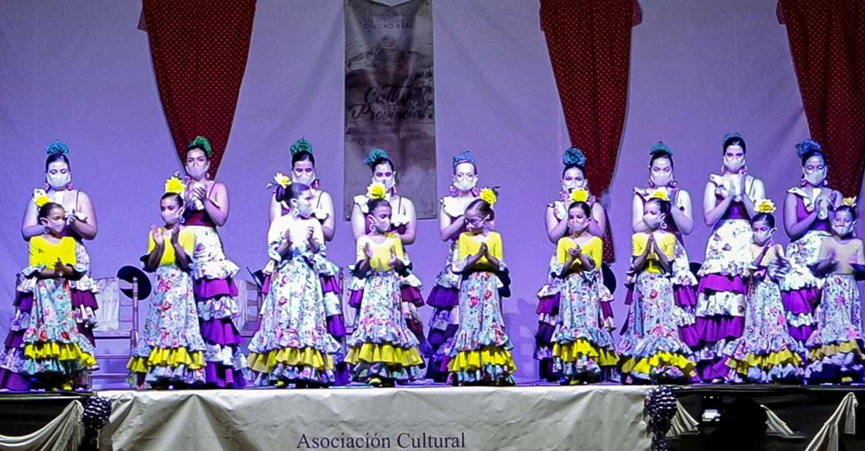 'Baile Andaluz' regaló a Almodóvar del Campo una velada de tronío y optimismo